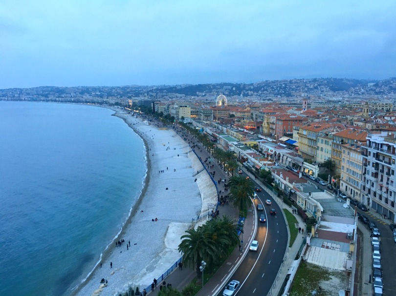 View from Chateau De Nice