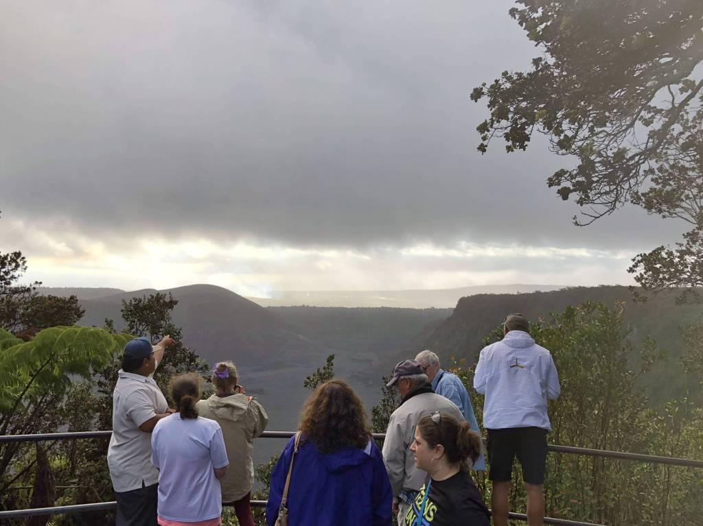 volcano park