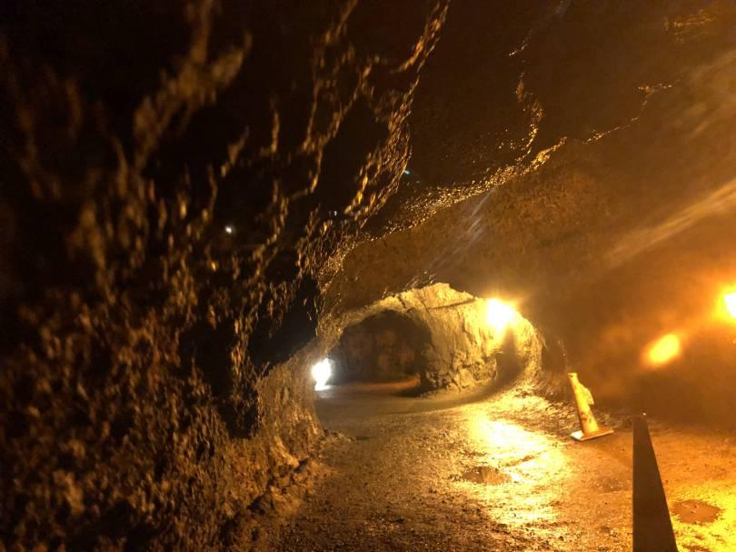 volcano cave