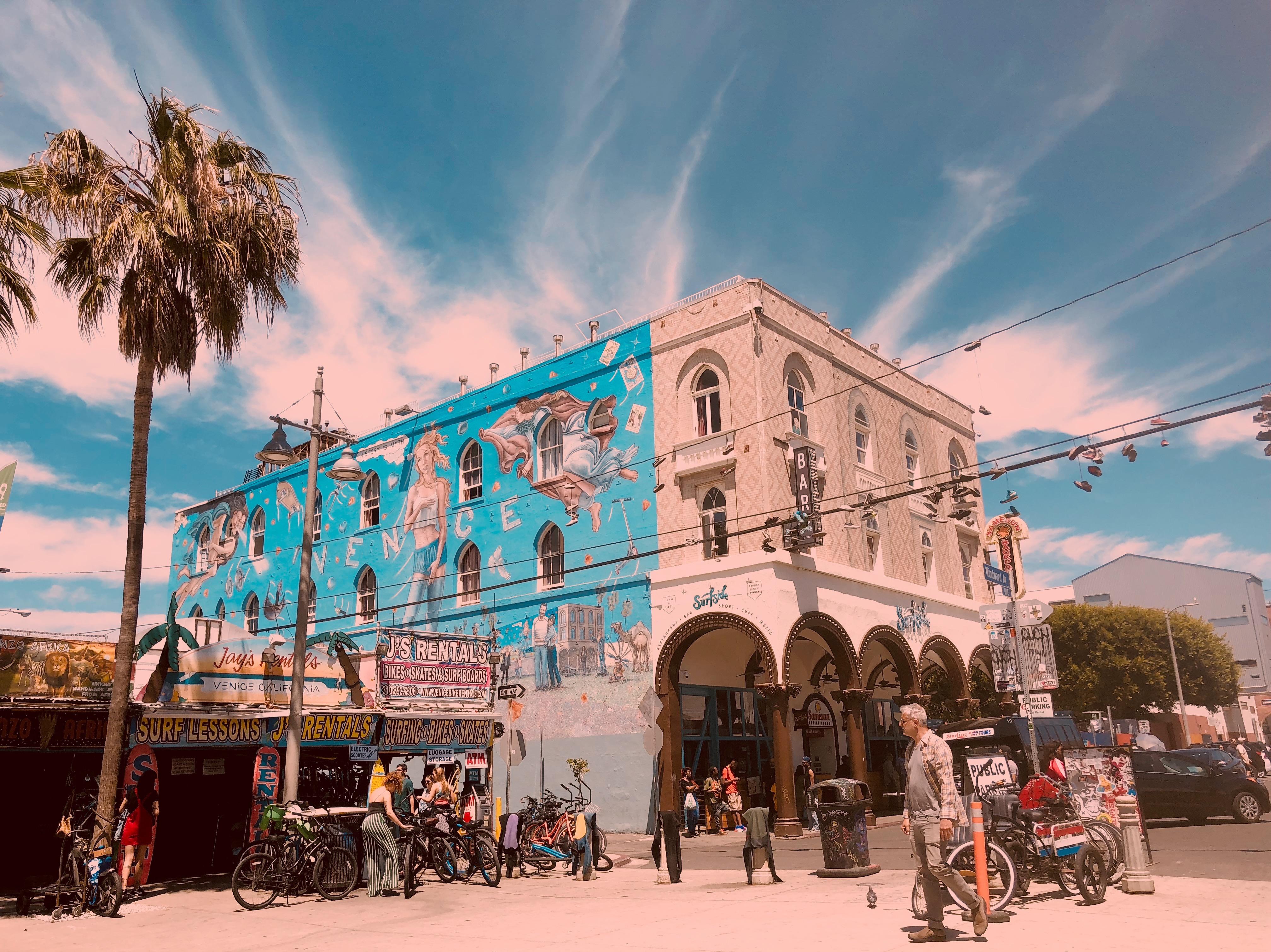 Venice Beach freakshow márnice a Ázie datovania žiadne reťazce datovania čistá zaregistrovať